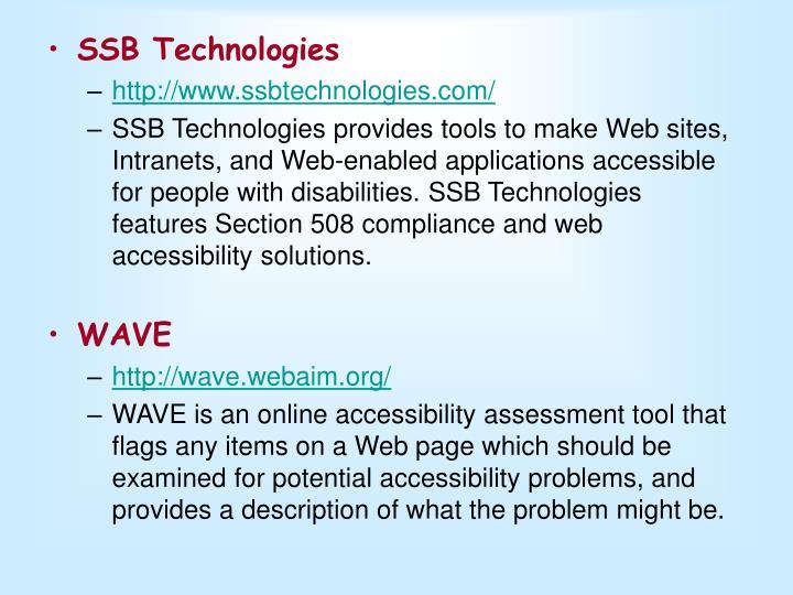 SSB Technologies