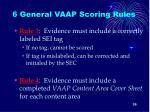 6 general vaap scoring rules1