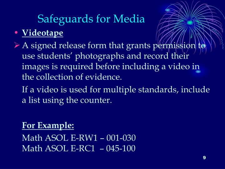Safeguards for Media