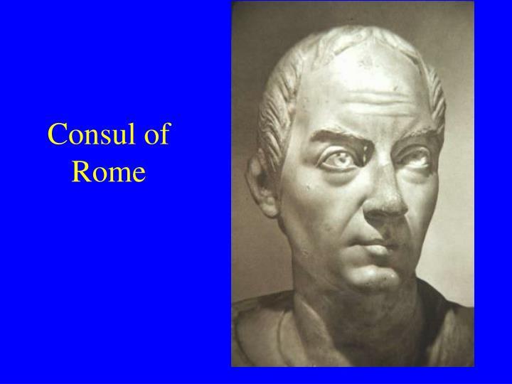 Consul of Rome