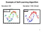 example of self learning algorithm1
