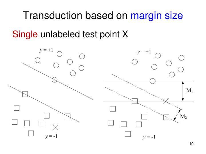 Transduction based on