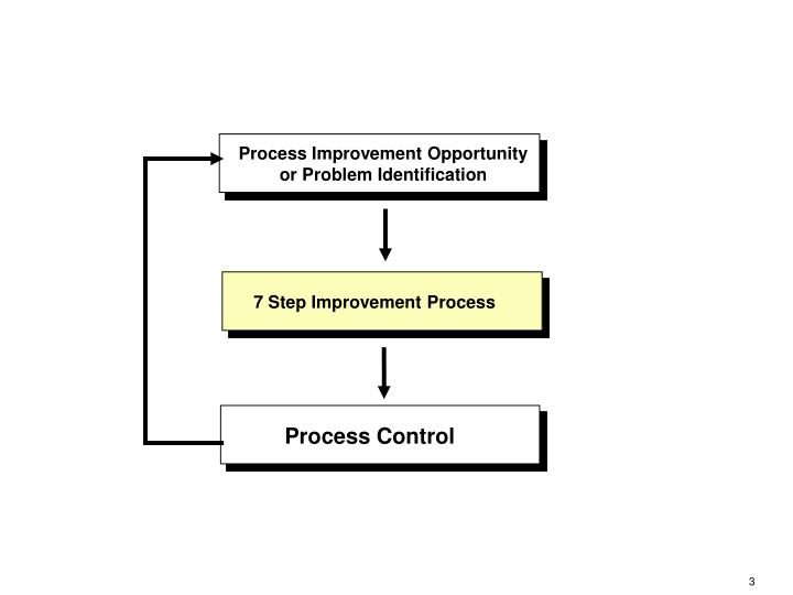 Process Improvement Opportunity or Problem Identification
