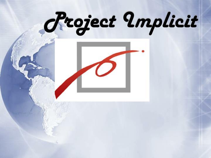 Project Implicit