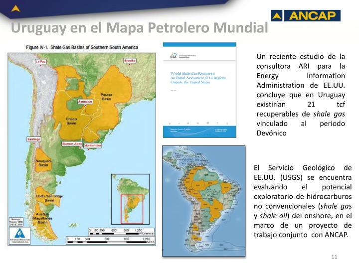 Uruguay en el Mapa Petrolero Mundial
