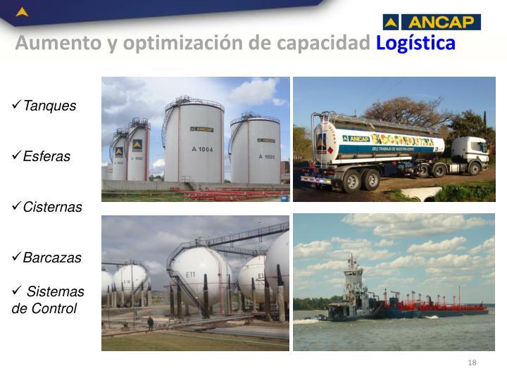 Aumento y optimización de capacidad