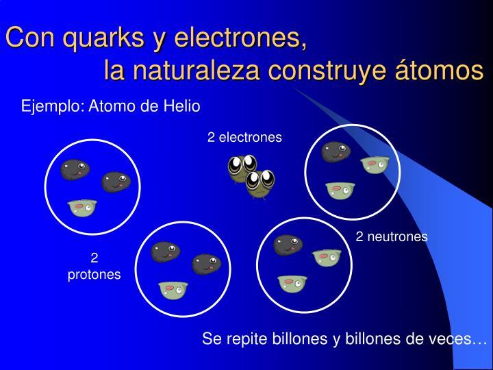 Con quarks y
