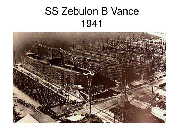 SS Zebulon B Vance