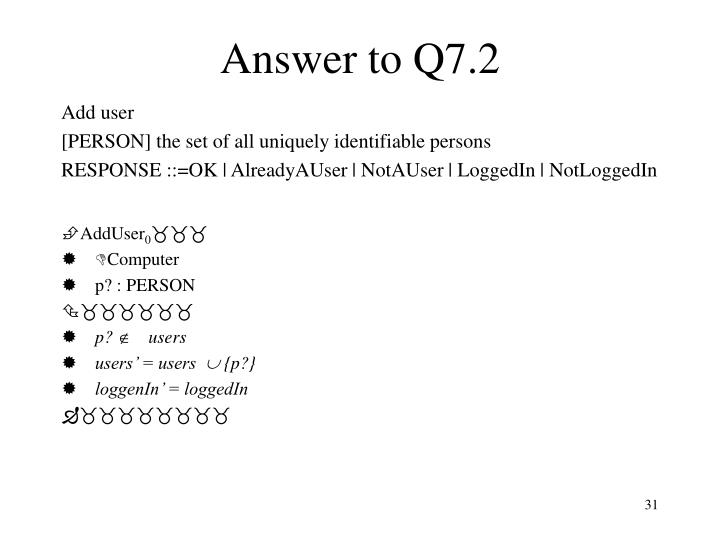 Answer to Q7.2