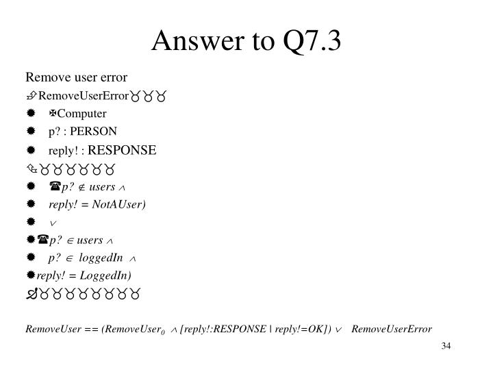 Answer to Q7.3