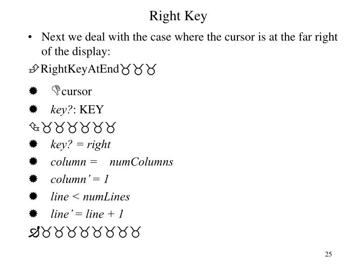Right Key