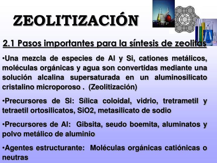 ZEOLITIZACIÓN
