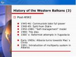 history of the western balkans 3