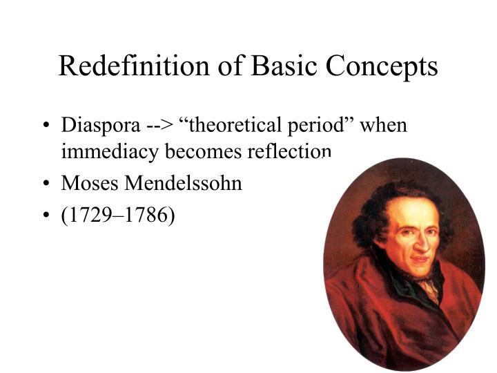 Redefinition of Basic Concepts