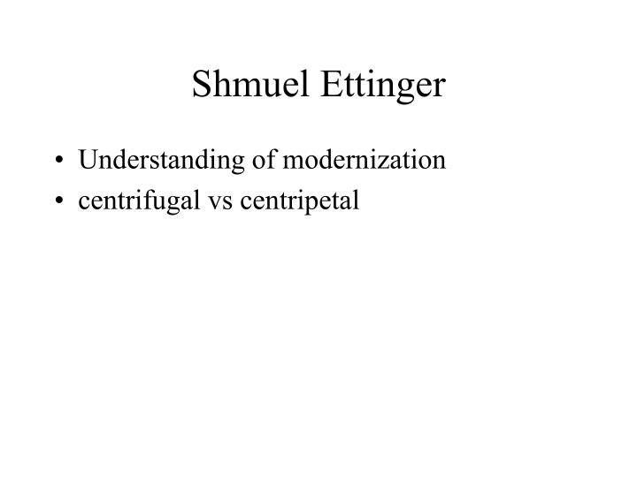Shmuel Ettinger