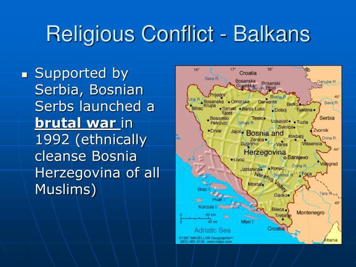 Religious Conflict - Balkans