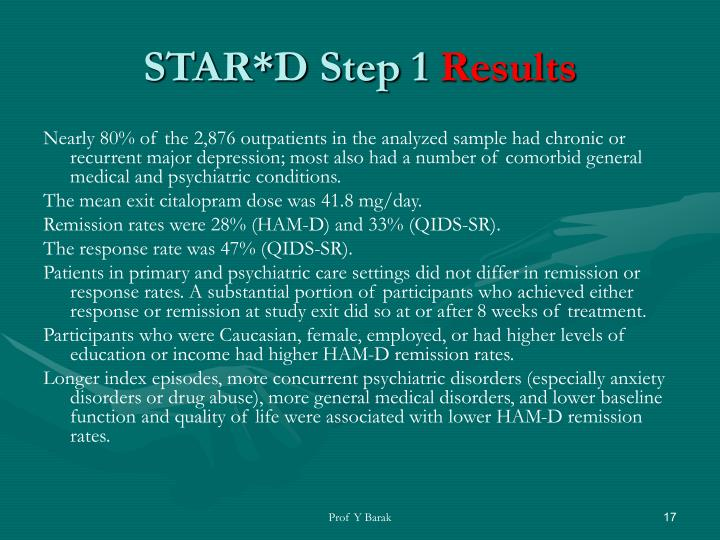 STAR*D Step 1