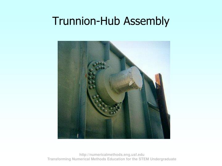Trunnion-Hub Assembly