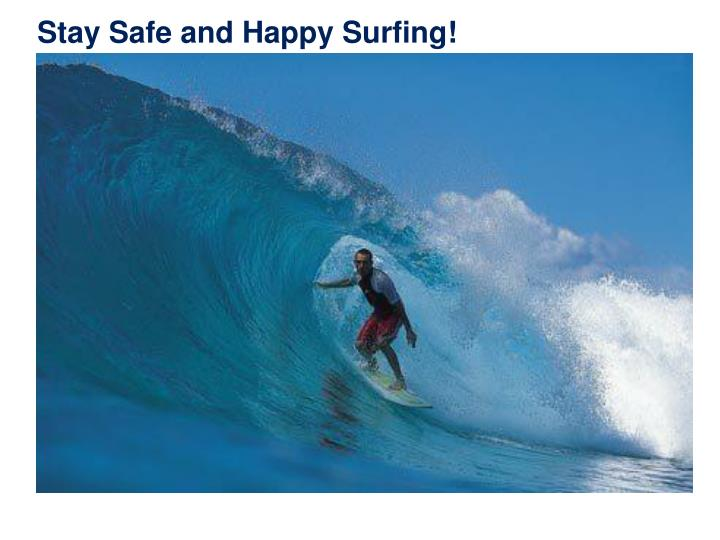 Stay Safe and Happy Surfing!