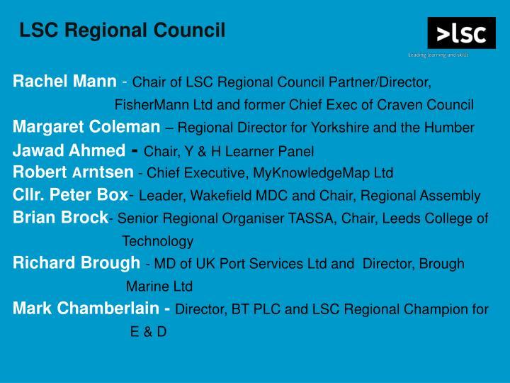 LSC Regional Council