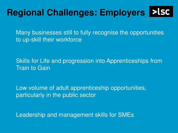 Regional Challenges: Employers
