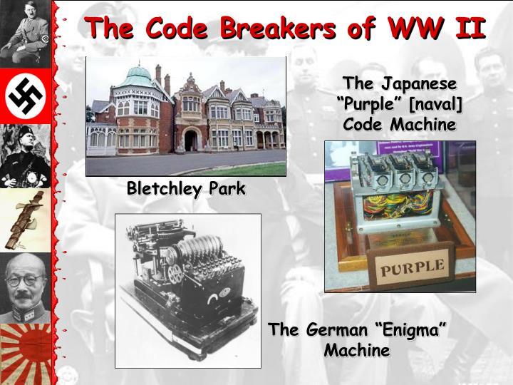 The Code Breakers of WW II