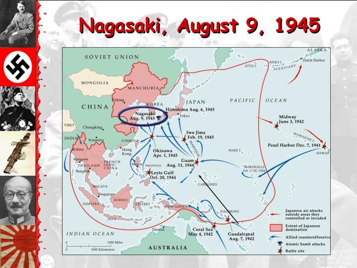 Nagasaki, August 9, 1945