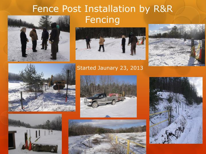 Fence Post Installation by R&R Fencing