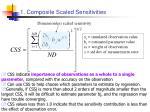 1 composite scaled sensitivities