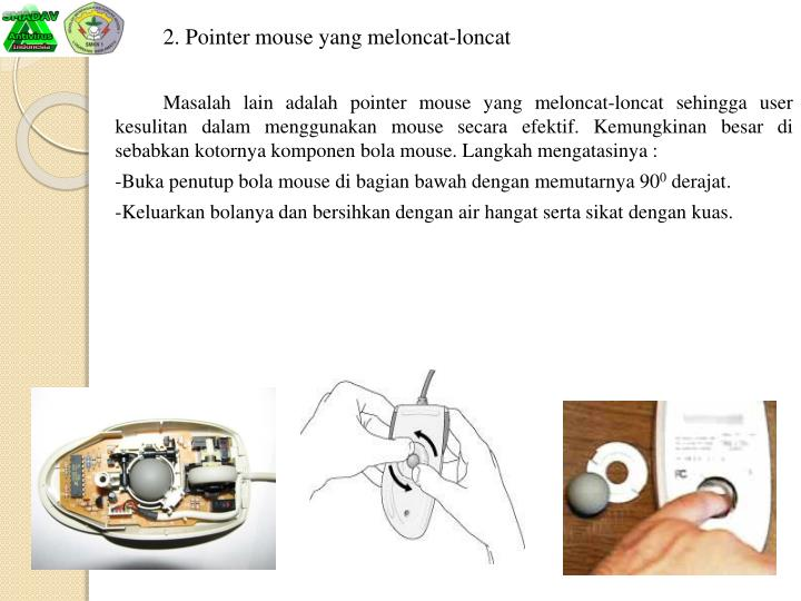 2. Pointer mouse yang
