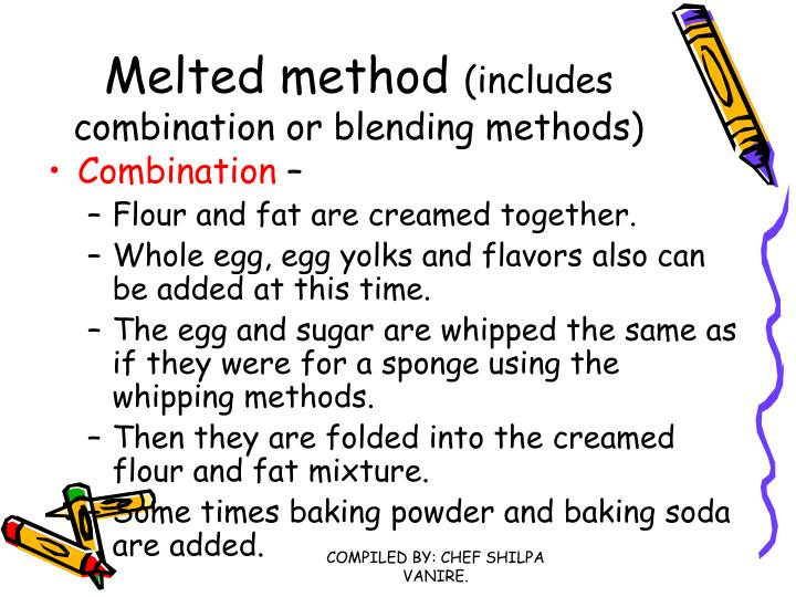 Melted method