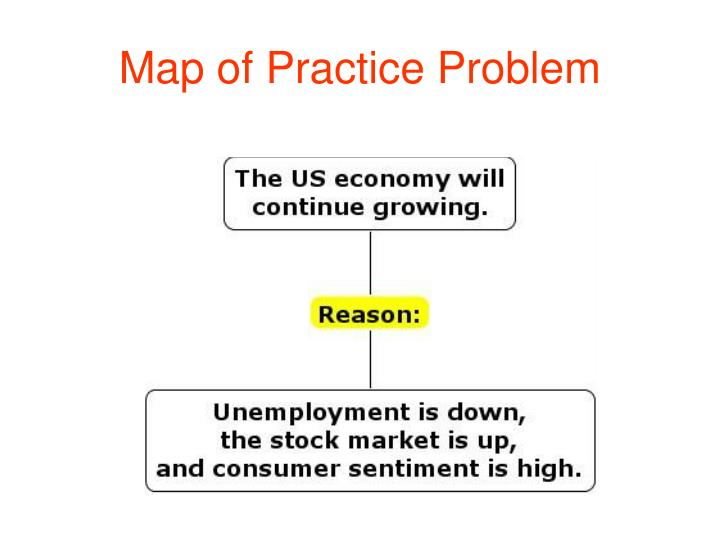 Map of Practice Problem