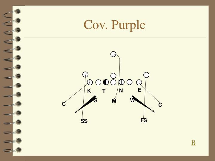 Cov. Purple