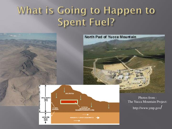 What is Going to Happen to Spent Fuel?