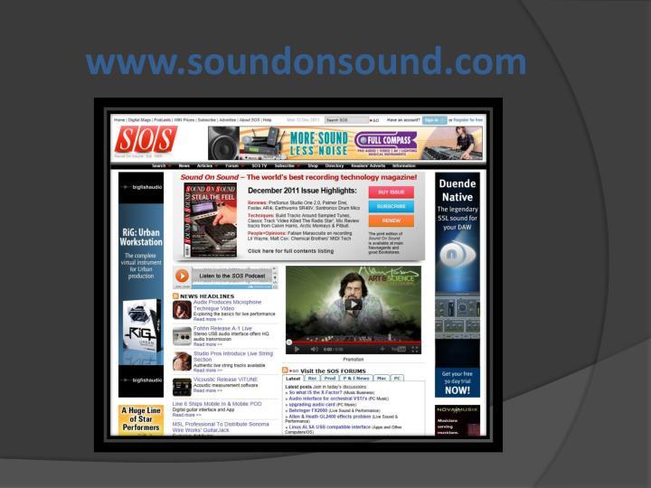 www.soundonsound.com
