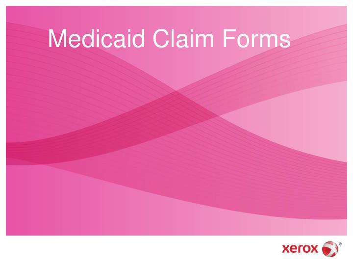 Medicaid Claim Forms