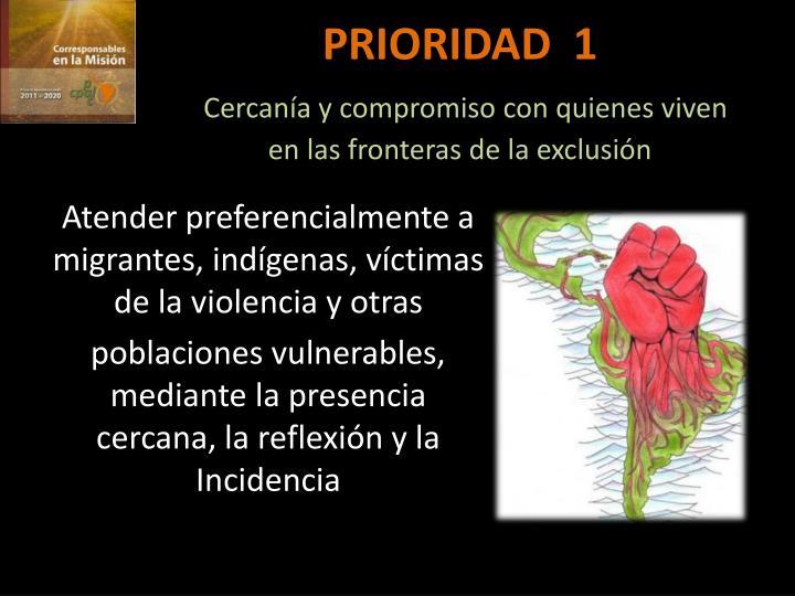 PRIORIDAD  1