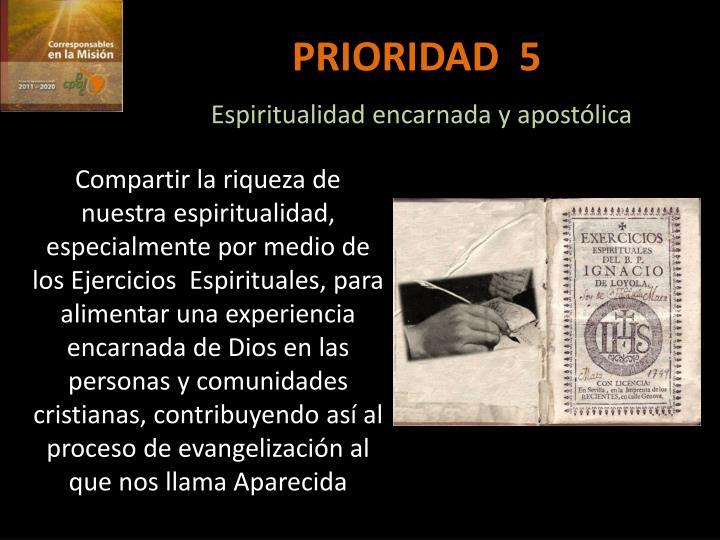 PRIORIDAD  5