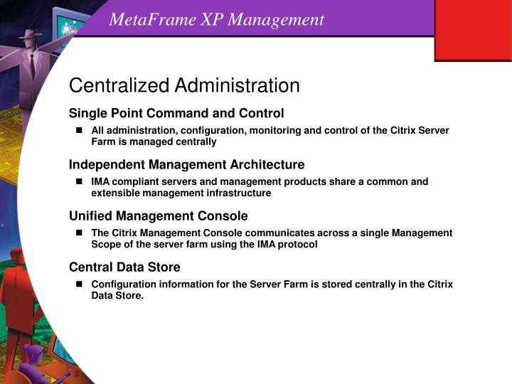 MetaFrame XP Management