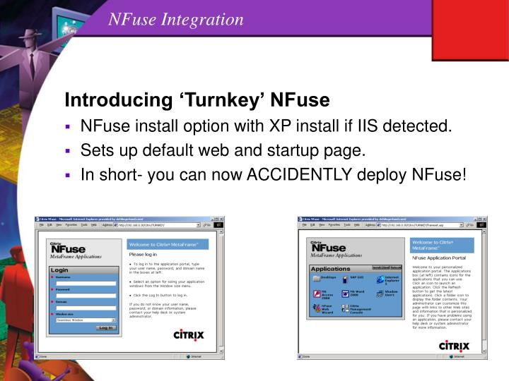 NFuse Integration