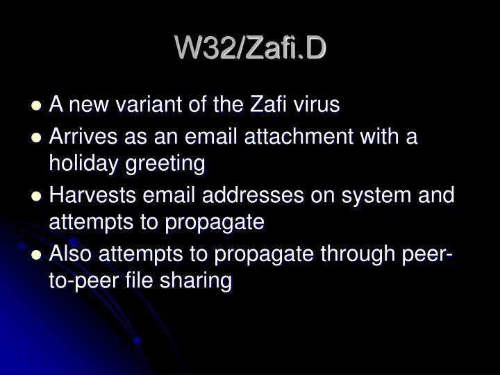 W32/Zafi.D