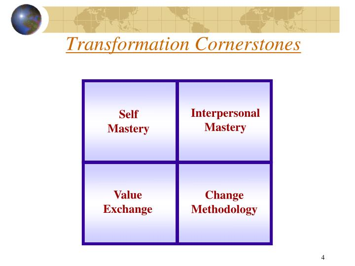 Transformation Cornerstones