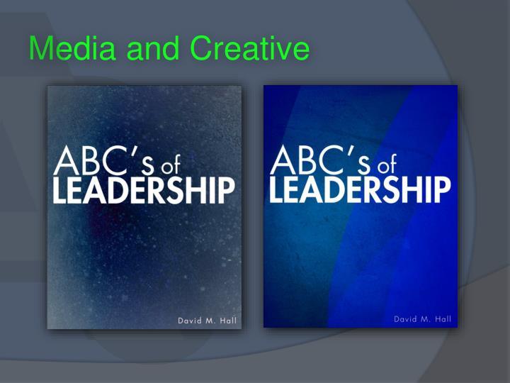 Media and Creative