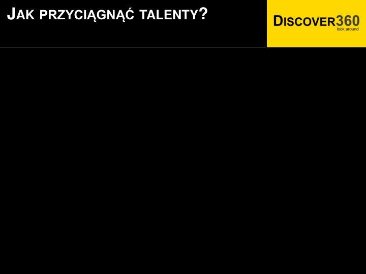 Jak przyciągnąć talenty?