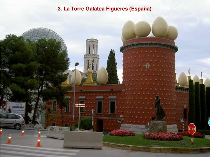 3. La Torre Galatea Figueres (España)