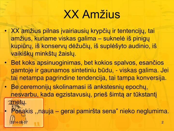 XX Amius