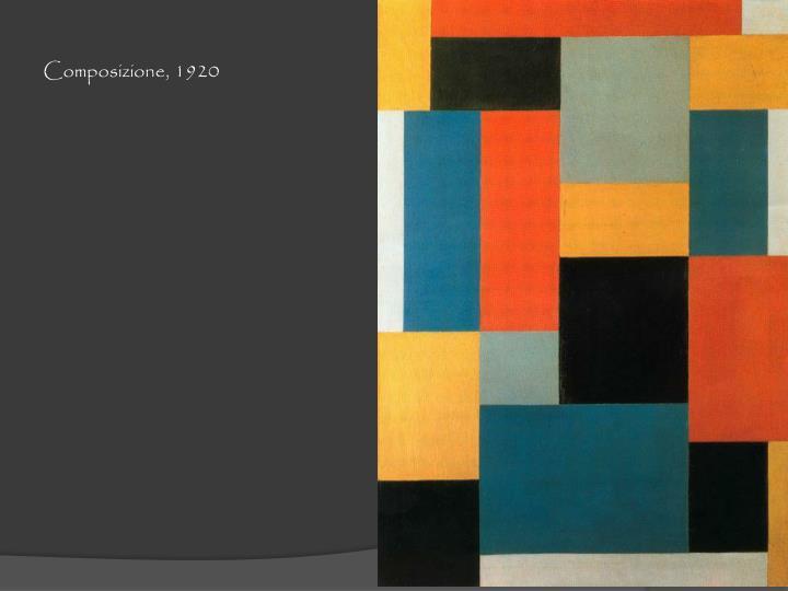 Composizione, 1920