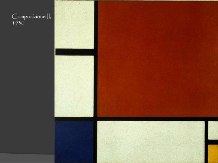 Composizione II, 1930