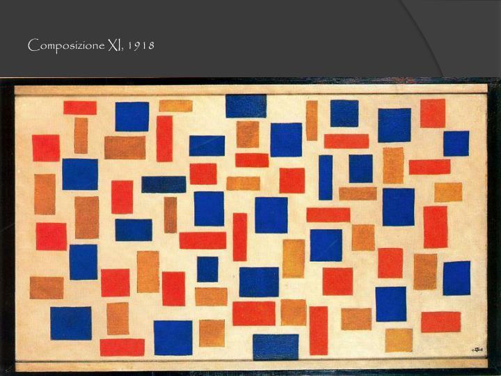 Composizione XI, 1918