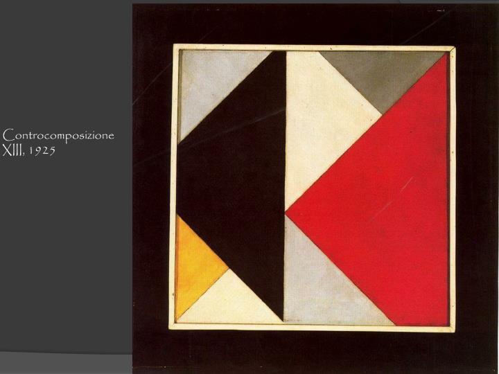 Controcomposizione  XIII, 1925